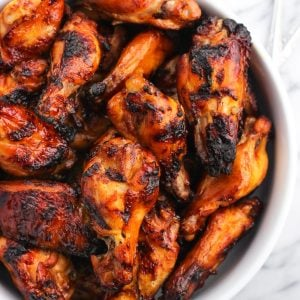Grilled Spicy Soy Chicken Wings