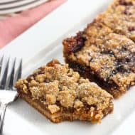 Pick Your Flavor Crumb Topping Jam Bars