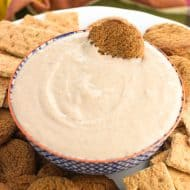 Honey Apple Butter Greek Yogurt Dip