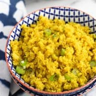 Ginger Turmeric Cauliflower Rice