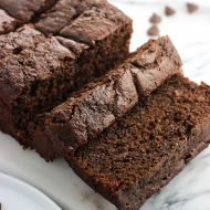 Chocolate Malted Banana Bread