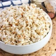 Stovetop Buffalo Ranch Popcorn