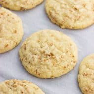 Chewy Toasted Coconut Cookies