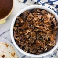 Coffee Rubbed Instant Pot Pulled Pork