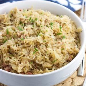Easy Instant Pot Sauerkraut