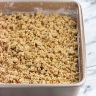 How to Make Crumb Topping