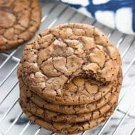 Malted Brownie Cookies