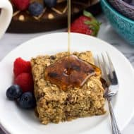 Healthy Baked Oatmeal Bars